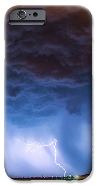 Nebraskasc iPhone 6s Case - Another Impressive Nebraska Night Thunderstorm 008/ by NebraskaSC