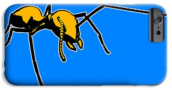 Ant iPhone 6s Case - Ant Graphic  by Pixel  Chimp