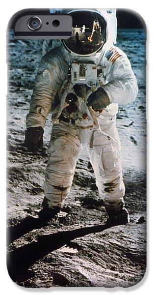 Astronauts iPhone 6s Case - Apollo 11 Buzz Aldrin by Granger