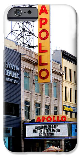 Apollo Theater iPhone 6s Case - Apollo Theater by Randall Weidner
