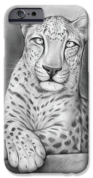 Leopard iPhone 6s Case - Arabian Leopard by Greg Joens