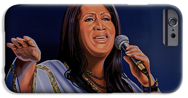 Aretha Franklin Painting IPhone 6s Case