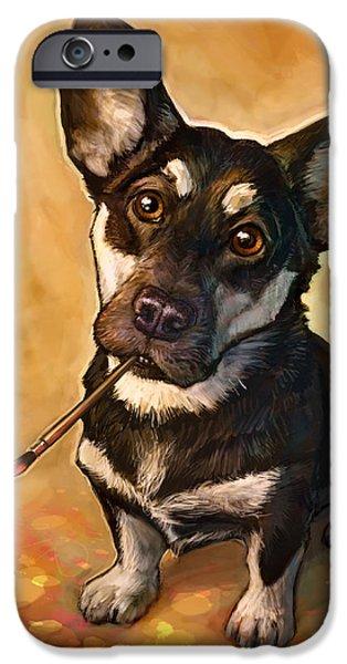 Dog iPhone 6s Case - Arfist by Sean ODaniels