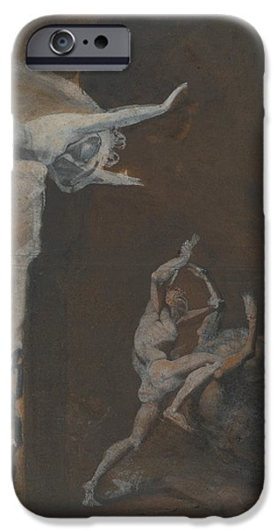 Ariadne Watching The Struggle Of Theseus With The Minotaur IPhone 6s Case by Henry Fuseli