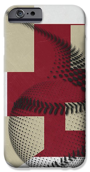 Diamondback iPhone 6s Case - Arizona Diamondbacks Art by Joe Hamilton