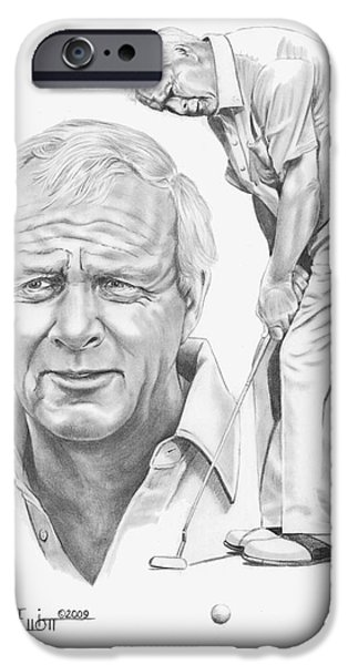 Arnold Palmer IPhone 6s Case by Murphy Elliott