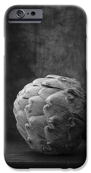 Artichoke Black And White Still Life IPhone 6s Case by Edward Fielding