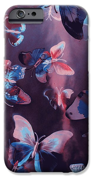 Fairy iPhone 6s Case - Artistic Colorful Butterfly Design by Jorgo Photography - Wall Art Gallery