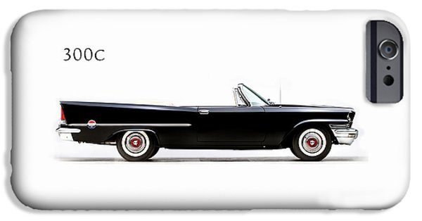 Car iPhone 6s Case - Chrysler 300c 1957 by Mark Rogan