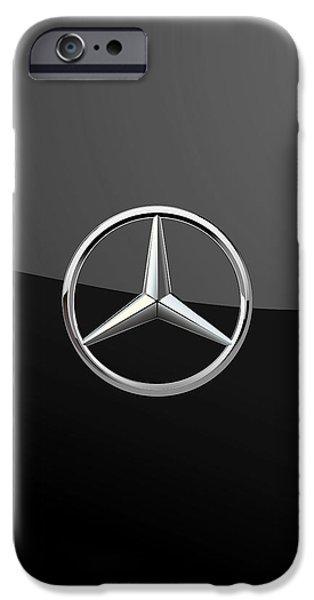 Mercedes-benz - 3d Badge On Black IPhone 6s Case