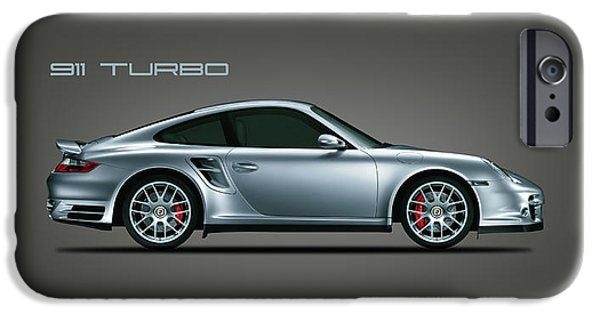 Car iPhone 6s Case - Porsche 911 Turbo by Mark Rogan