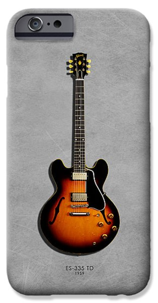 Gibson Es 335 1959 IPhone 6s Case by Mark Rogan