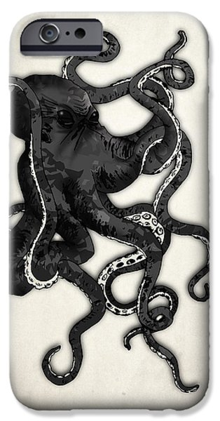 Animals iPhone 6s Case - Octopus by Nicklas Gustafsson