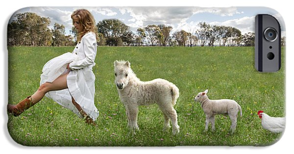 A Walk In The Country IPhone 6s Case by Linda Lees