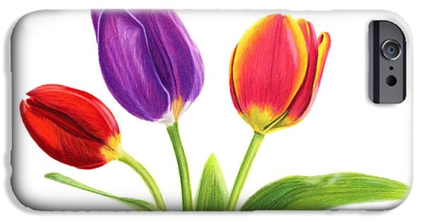 Tulip Trio IPhone 6s Case