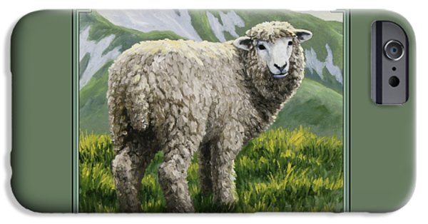 Sheep iPhone 6s Case - Highland Ewe by Crista Forest