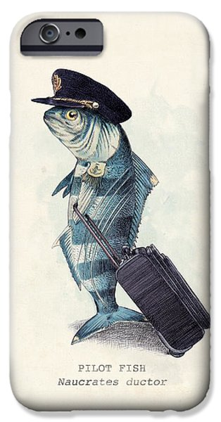 Animals iPhone 6s Case - The Pilot by Eric Fan