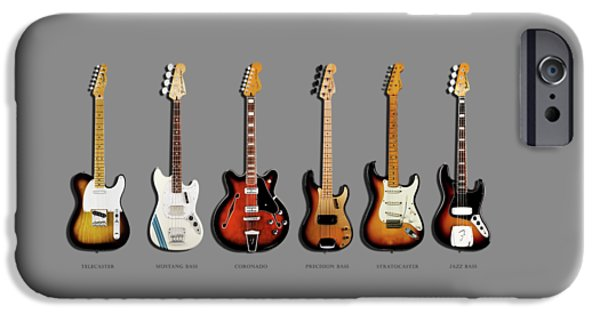 Jazz iPhone 6s Case - Fender Guitar Collection by Mark Rogan