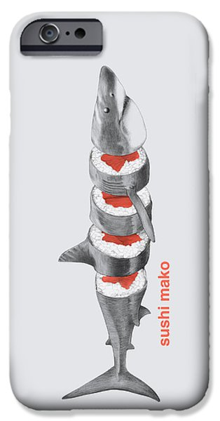 Sushi Mako IPhone 6s Case by Eric Fan