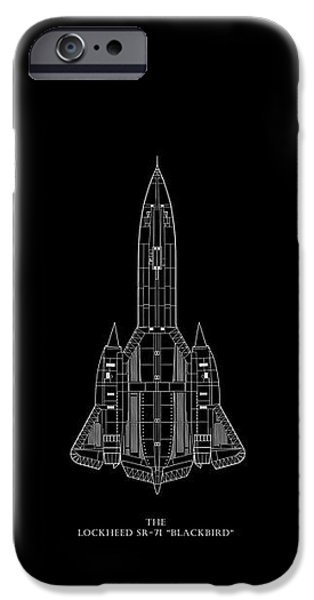 The Lockheed Sr-71 Blackbird IPhone 6s Case by Mark Rogan