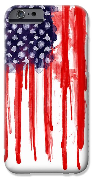 American Spatter Flag IPhone 6s Case