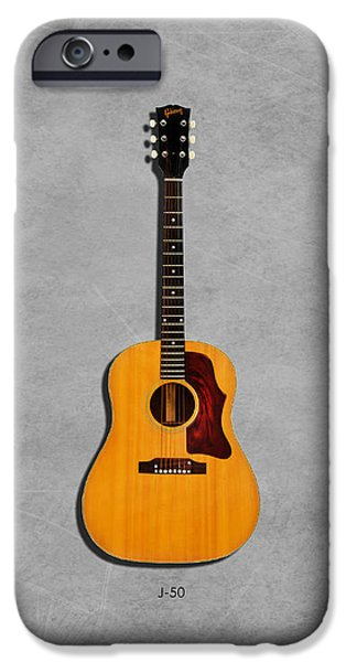 Gibson J-50 1967 IPhone 6s Case by Mark Rogan