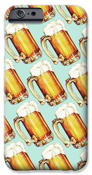 Beer Pattern IPhone 6s Case by Kelly Gilleran