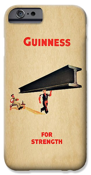 Guiness For Strength IPhone 6s Case by Mark Rogan