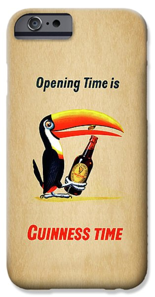 Opening Time Is Guinness Time IPhone 6s Case by Mark Rogan