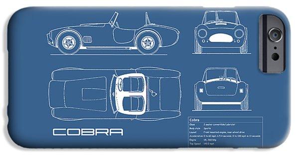 Ac Cobra Blueprint IPhone 6s Case by Mark Rogan