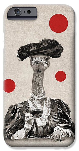 Ostrich iPhone 6s Case - Animal12 by Francois Brumas