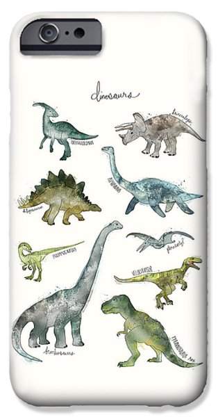 Dinosaurs IPhone 6s Case by Amy Hamilton