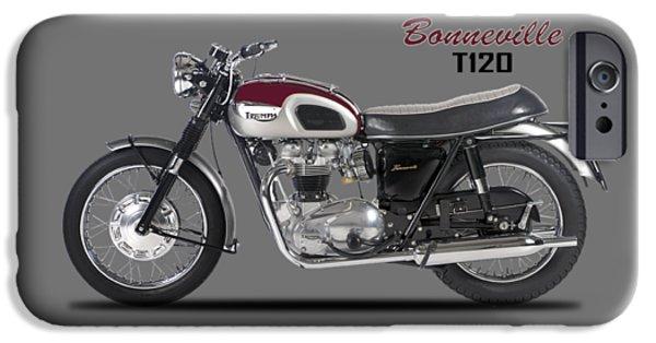 Transportation iPhone 6s Case - Triumph Bonneville T120 1968 by Mark Rogan