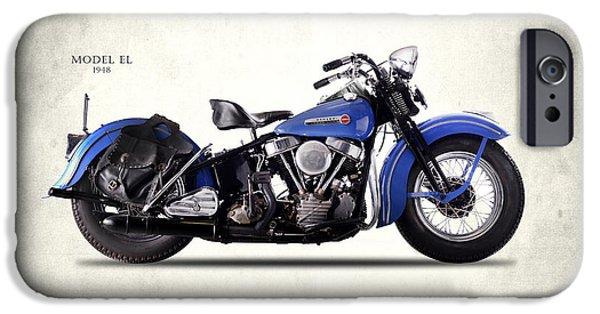 Harley-davidson El 1948 IPhone 6s Case by Mark Rogan
