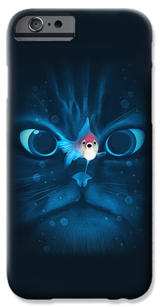 Cat Fish IPhone 6s Case by Nicholas Ely