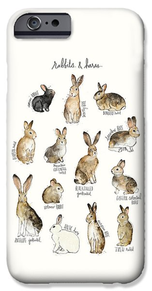 Rabbits And Hares IPhone 6s Case