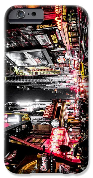 Times Square iPhone 6s Case - New York City Night II by Nicklas Gustafsson