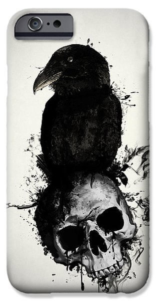 Raven And Skull IPhone 6s Case