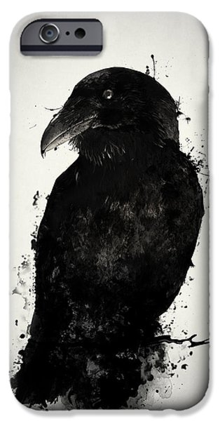 Crow iPhone 6s Case - The Raven by Nicklas Gustafsson