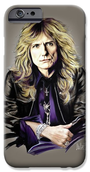 David Coverdale IPhone 6s Case by Melanie D