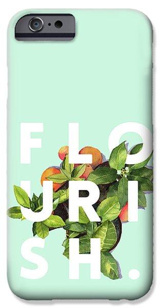 Flowers iPhone 6s Case - Flourish by Uma Gokhale