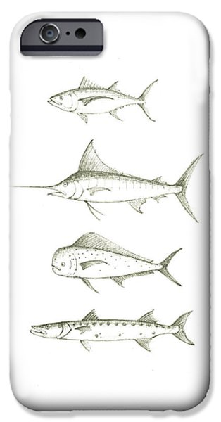 Saltwater Gamefishes IPhone 6s Case by Juan Bosco