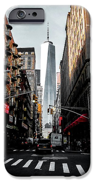 Times Square iPhone 6s Case - Lower Manhattan One Wtc by Nicklas Gustafsson