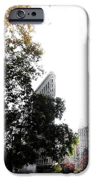 Times Square iPhone 6s Case - Flatiron Autumn  by Nicklas Gustafsson