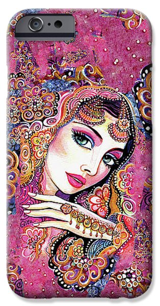 IPhone 6s Case featuring the painting Kumari by Eva Campbell