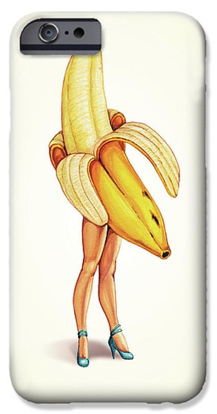 Fruit Stand - Banana IPhone 6s Case by Kelly Gilleran