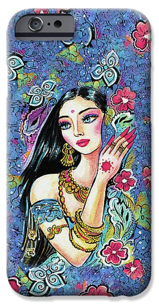 IPhone 6s Case featuring the painting Gita by Eva Campbell
