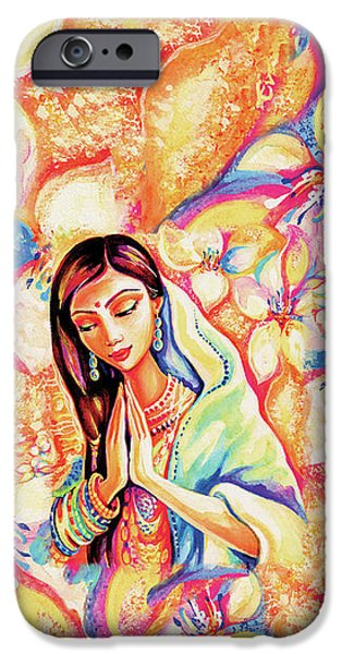 IPhone 6s Case featuring the painting Little Himalayan Pray by Eva Campbell