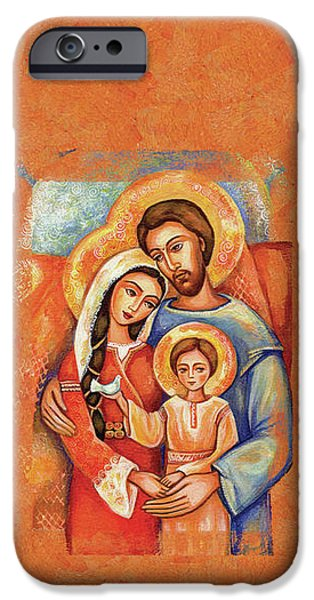 IPhone 6s Case featuring the painting The Holy Family by Eva Campbell