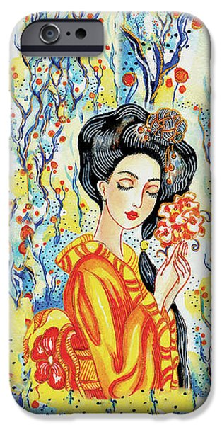 IPhone 6s Case featuring the painting Harmony by Eva Campbell